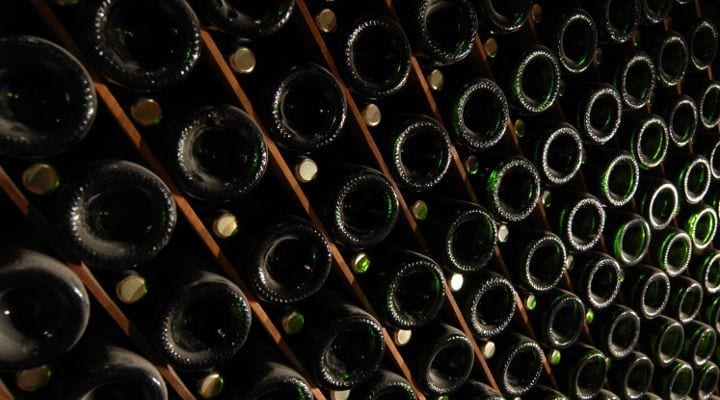 How many bottles of Champagne are produced each year?
