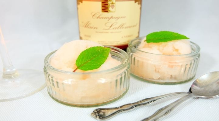 How to make Champagne Sorbet at home!