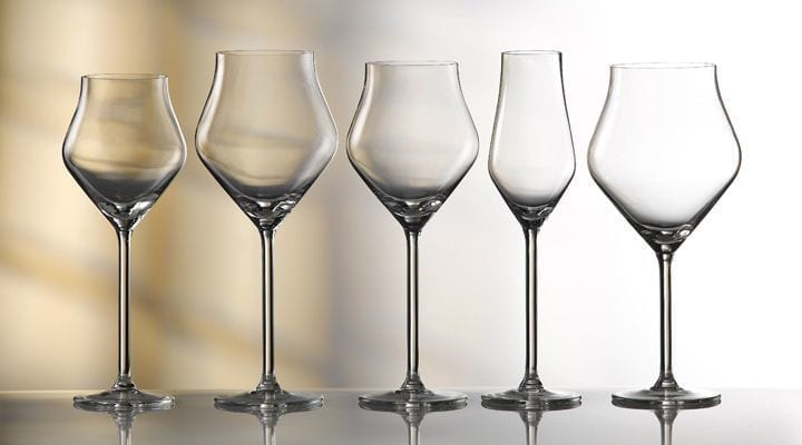 Artis Introduces Three New 'Finesse' Ranges of Glassware from Royal Leerdam