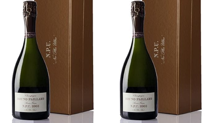 Champagne Bruno Paillard Launches N.P.U. Nec Plus Ultra 2003