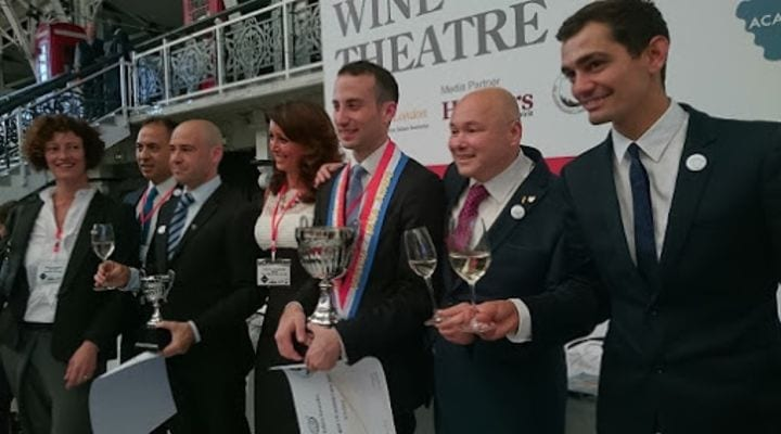 Vincenzo Arnese wins 'Best UK Sommelier' 2015