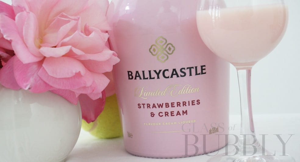 Ballycastle Strawberries and Cream Liqueur